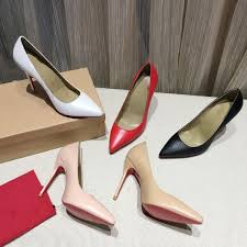 <b>New design</b> fashion women's shoes five colors leather pointed <b>thin</b> ...