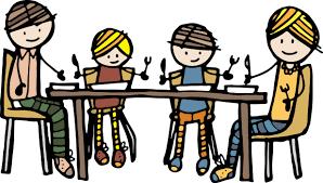 dining table clip art