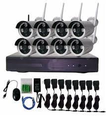 <b>SUNSEE DIGITAL</b> 8CH Wireless CCTV System <b>2MP</b> Wifi NVR Kit ...