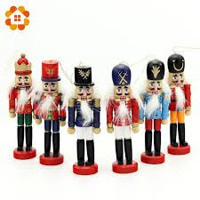 US $22.3 |<b>1SET 12cm Wooden</b> Nutcracker Puppet Zakka Creative ...