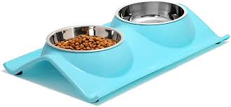 UPSKY Double Dog Cat Bowls Premium Stainless ... - Amazon.com