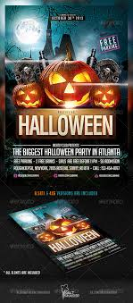 halloween party flyer template by saltshaker911 graphicriver halloween party flyer template holidays events
