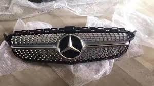 Mercedes <b>C Class w205 Diamond</b> Style Multi Version Front <b>Grill</b>