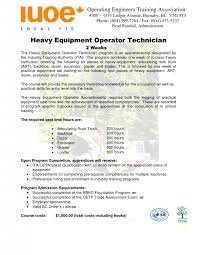 cover letter heavy equipment operator resume qhtypm heavy sample techniciansample resume machine operator sample resume heavy equipment operator