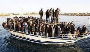 Image result for Photos of syrian refugee on boats