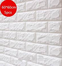 10pcs 3d wall sticker marble mosaic brick self adhesive waterproof paper for kitchen bathroom home diy stickers