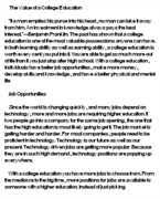 essay on value of education   title free the value of a college education essay