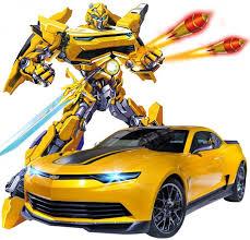 <b>Радиоуправляемый трансформер MZ</b> Chevrolet Camaro 1:14 ...