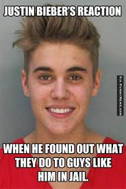 Funny memes – Justin Bieber's reaction | FunnyMeme.com via Relatably.com