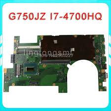 <b>Send board</b> + <b>2D</b> G750JZ Laptop motherboard for ASUS G750JZ ...