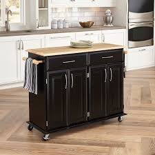 leaf kitchen cart: home styles   dolly madison kitchen cart black finish