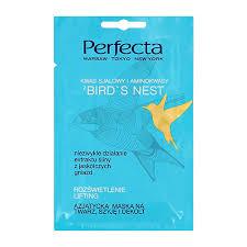 <b>Маска для лица</b>, <b>шеи</b> и зоны декольте `PERFECTA` BIRD`S NEST ...