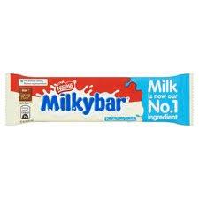 Milkybar <b>Medium White</b> Chocolate Bar 25G - Tesco Groceries
