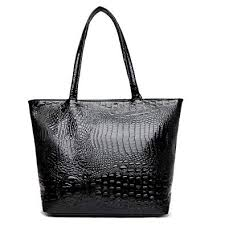 Womens Large Crocodile Tote Purse Satchel Lady ... - Amazon.com