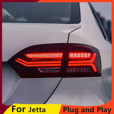 KOWELL <b>Car Styling</b> for vw jetta 2012-2014 LED <b>taillights</b> GLI MK6 ...