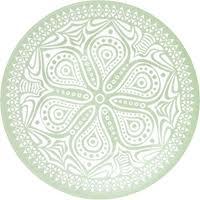 <b>Тарелка PASABAHCE Boho</b> 19,5см, <b>десертная</b>, зеленая 10327 D ...