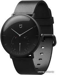 Xiaomi <b>MiJia Quartz</b> Watch SYB01 (черный) <b>умные часы</b> купить в ...