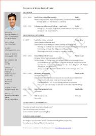 cv format word event planning template curriculum vitae template curriculum vitae sample 1