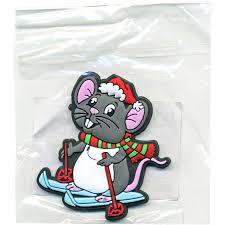 """<b>Магнит</b> """"Мышонок на лыжах"""", 6 см, ПВХ   Купить с доставкой   My ..."""