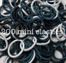 <b>Mini</b> Ponytail Elastics // <b>200pc PACK</b> or BULK PACK – threddies