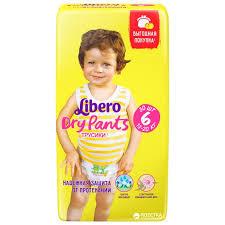 ROZETKA | <b>Подгузники</b>-<b>трусики Libero Либеро Dry Pants</b> 6 13-20 ...