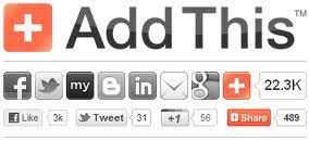Hasil gambar untuk tombol share addthis