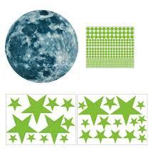 <b>New Arrival Luminous</b> Moon Self-Luminous Starry Sky Wall Stickers ...