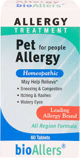 <b>BioAllers Pet Allergy Treatment</b> For People -- 60 Tablets - Vitacost