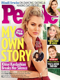 khloe kardashian addresses people interview backlash khloe kardashian people cover