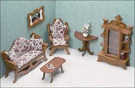 unfinished dollhouse furniture living room affordable dollhouse furniture