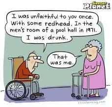 """Senior Citizen Cartoons   The Feral Irishman: Some """"Old Geezer ... via Relatably.com"""