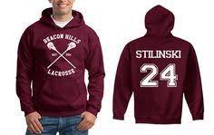 Scott Mccall 11 <b>Teen Wolf</b> Beacon Hills Inspired Lacrosse Adult ...