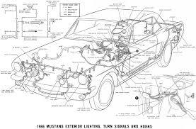 1966 mustang wiring diagrams average joe restoration sm66ext 1966