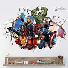 Small Picture Designs Superhero Wall Decals Superhero Wall Stickers Au Dc