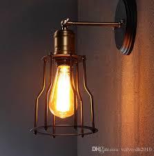 2019 Loft <b>Vintage</b> Wall Lamp <b>American</b> Style <b>Country</b> Wall Lights ...