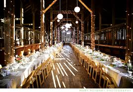 the barn wedding can provide traditional as well as barn wedding lights