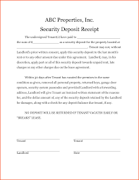 doc 1380782 tenant receipt tenant rent receipt template 89 security deposit receipt template security deposit receipt tenant receipt rental
