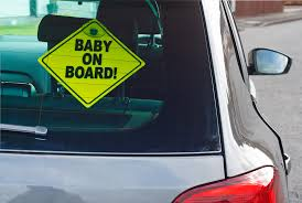 '<b>Baby on Board</b>': How a cutesy decal embodies the enduring terror of ...