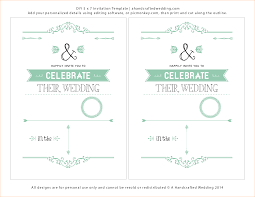 6 wedding invitations templates questionnaire template wedding invitations templates diy mint invitation template 2 per page ahandcraftedwedding png