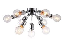 <b>Потолочный светильник Arte Lamp</b> A9265PL-9CC, серый ...