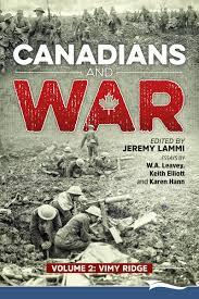 canadians and war volume vimy ridge lammi publishing inc recent posts
