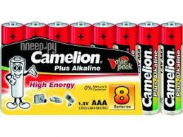 Купить <b>AAA</b> - <b>Camelion</b> Alkaline Plus LR03 LR03-SP-8 (8 штук) по ...
