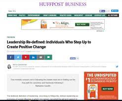 marion chamberlain chamberlain leadership social responsibility huffpost leadership redefined