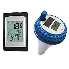 Finerplan <b>Wireless</b> Solar Power Floating <b>Pool</b> Thermometer <b>Digital</b>
