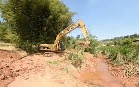 Lagoa Espelho D'água, do Mato Dentro, vai ganhar pista de caminhada e brinquedos para as crianças