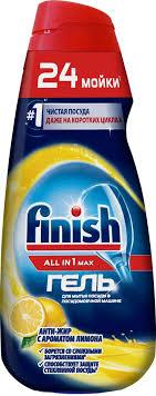 "<b>Гель</b> для мытья посуды <b>Finish All</b> in 1 Max ""Антижир"", с ароматом ..."