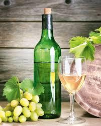 <b>Картина POSTERMARKET</b> Белое <b>вино</b> купить в Томске