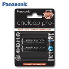 <b>Panasonic</b> BK 3HCDE/2BE Rechargeable Batteries eneloop pro ...