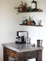 corner coffee station unique diy coffee station