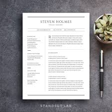 standout lab professionally designed resume brand yourself and make a strong impression easy to customize resume and cover letter template stand out from the rest and land your dream job